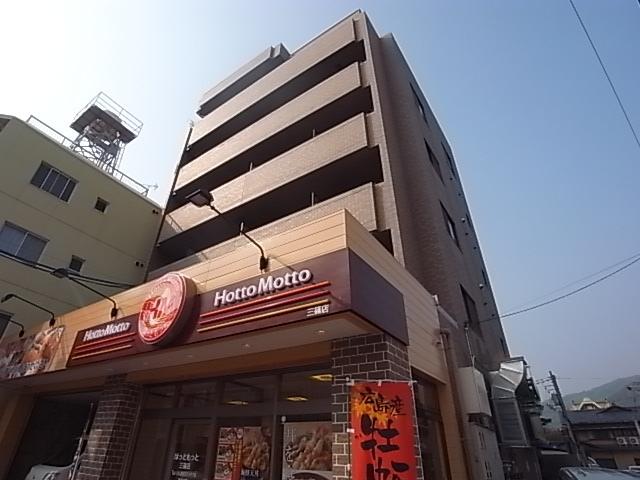 広島県広島市西区、横川駅徒歩10分の築16年 6階建の賃貸マンション