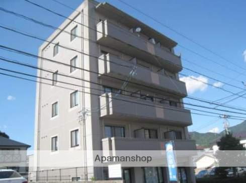 広島県広島市安佐南区、大町駅徒歩7分の築20年 5階建の賃貸マンション