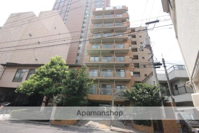 広島県広島市中区、土橋駅徒歩4分の築27年 10階建の賃貸マンション