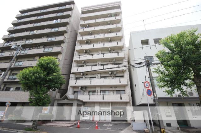 広島県広島市中区、舟入町駅徒歩5分の築27年 10階建の賃貸マンション