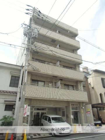 広島県広島市東区、広島駅徒歩11分の築33年 5階建の賃貸マンション
