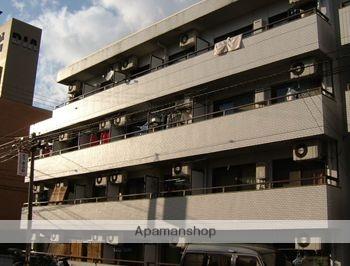 広島県広島市南区、的場町駅徒歩21分の築27年 4階建の賃貸マンション