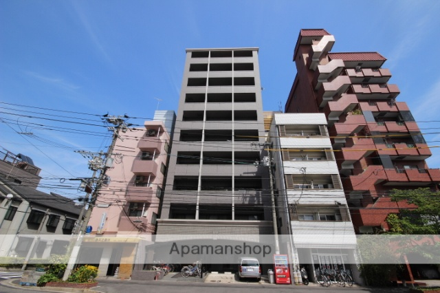広島県広島市西区、横川駅徒歩5分の築14年 10階建の賃貸マンション