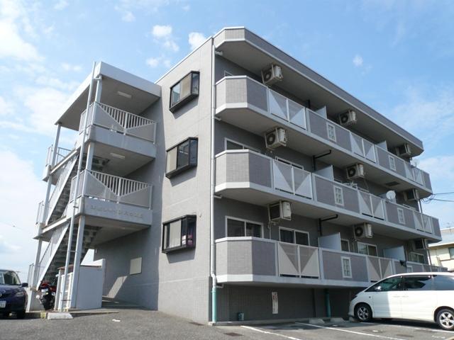 広島県広島市南区、向洋駅徒歩15分の築19年 3階建の賃貸マンション