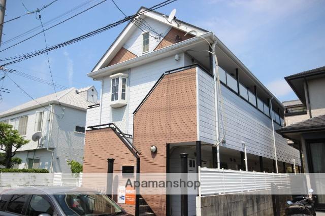 広島県広島市西区、五日市駅徒歩18分の築26年 2階建の賃貸アパート