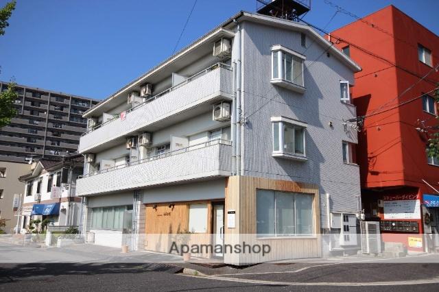 広島県広島市西区、草津駅徒歩11分の築27年 3階建の賃貸マンション
