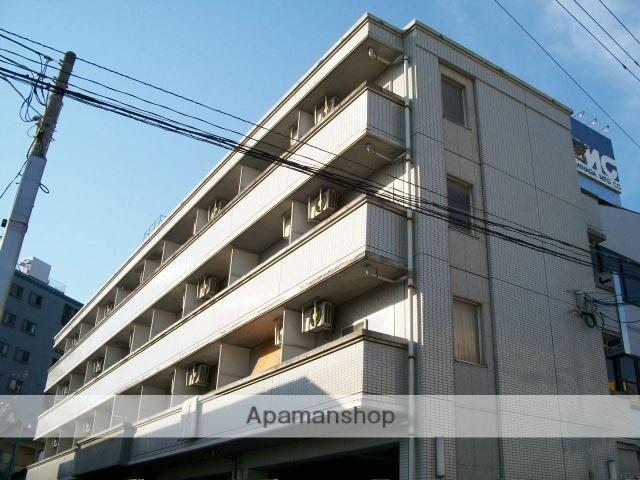 広島県広島市南区、向洋駅徒歩26分の築22年 4階建の賃貸マンション