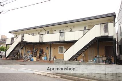広島県広島市西区、新井口駅徒歩10分の築33年 2階建の賃貸アパート