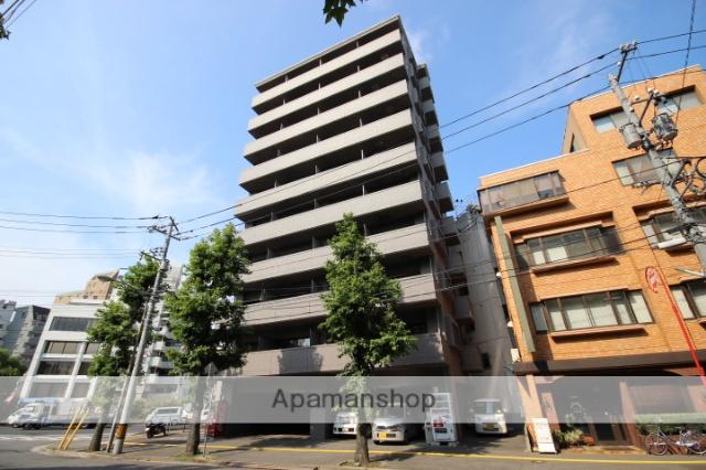 広島県広島市中区、日赤病院前駅徒歩8分の築14年 10階建の賃貸マンション