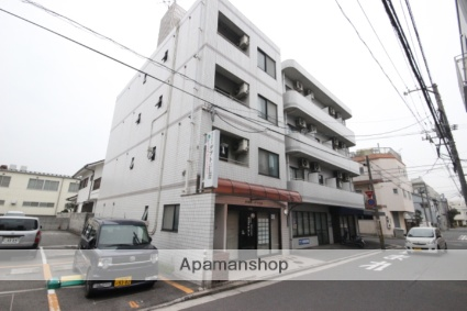 広島県広島市南区、天神川駅徒歩11分の築23年 4階建の賃貸マンション