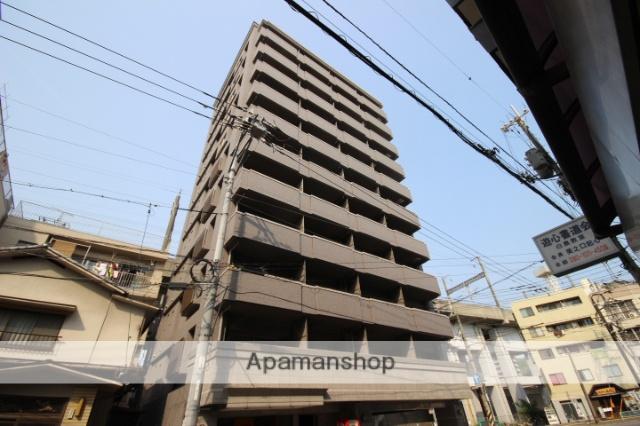 広島県広島市中区、新白島駅徒歩6分の築11年 11階建の賃貸マンション