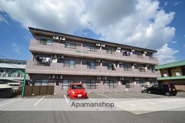 広島県東広島市、西条駅徒歩25分の築18年 3階建の賃貸アパート
