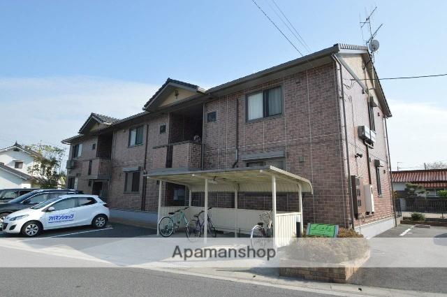 広島県東広島市、西条駅芸陽バス10分卯之留下車後徒歩7分の築13年 2階建の賃貸アパート