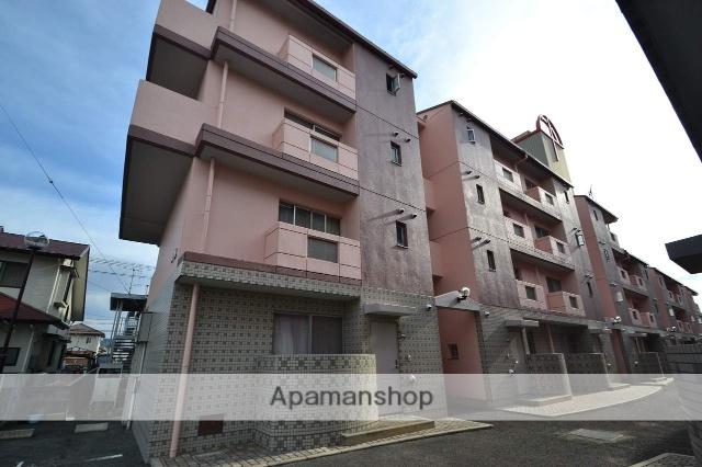 広島県東広島市、西条駅徒歩19分の築22年 4階建の賃貸マンション