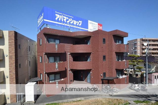 広島県東広島市、西条駅徒歩57分の築15年 3階建の賃貸マンション