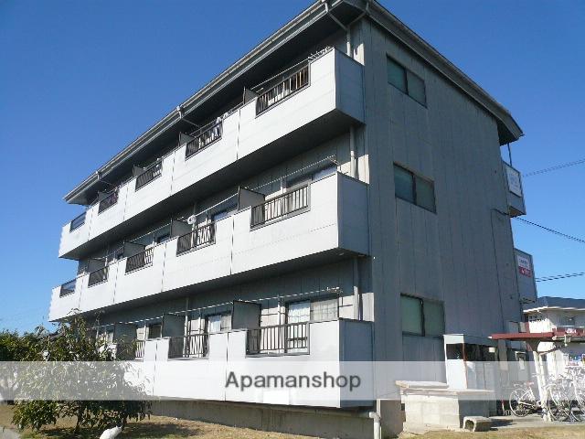 広島県東広島市の築22年 3階建の賃貸アパート