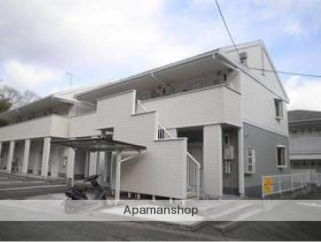 広島県東広島市、西高屋駅徒歩26分の築22年 2階建の賃貸アパート