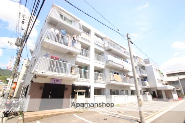 広島県広島市西区、三滝駅徒歩16分の築39年 4階建の賃貸マンション