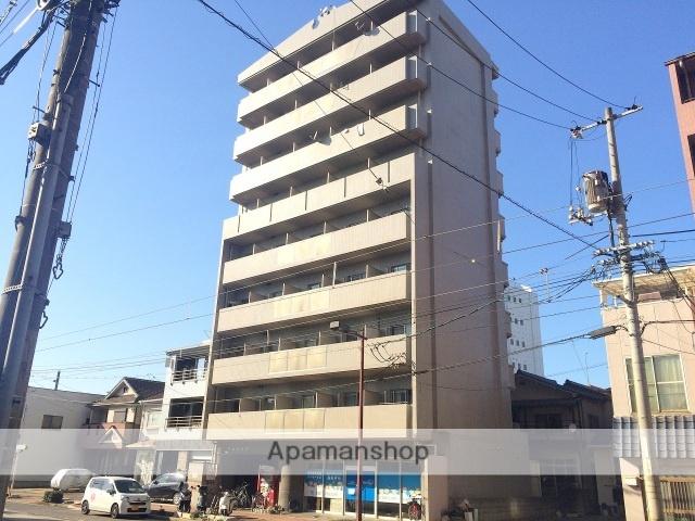 広島県広島市南区、広島港(宇品)駅徒歩5分の築27年 9階建の賃貸マンション
