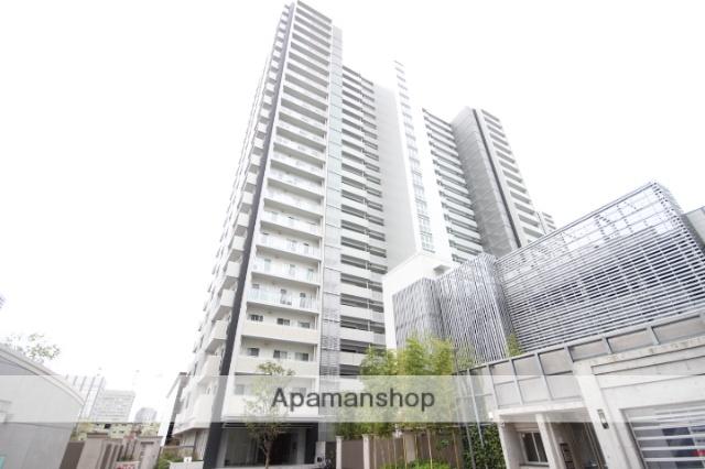 広島県広島市中区、縮景園前駅徒歩7分の築3年 24階建の賃貸マンション