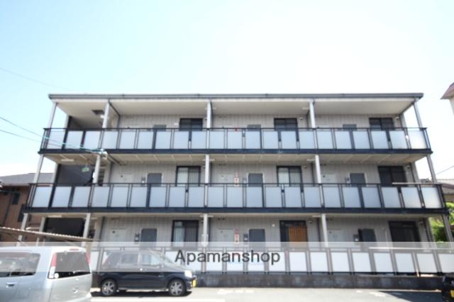 広島県広島市南区、県病院前駅徒歩8分の築23年 3階建の賃貸マンション
