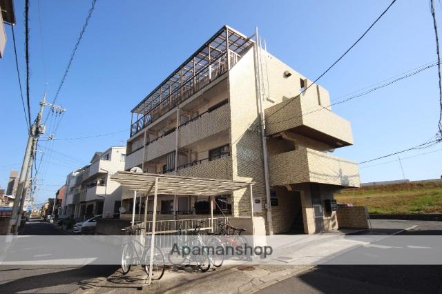 広島県広島市西区、東高須駅徒歩13分の築33年 4階建の賃貸マンション