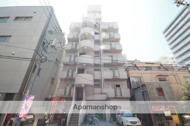 広島県広島市中区、中電前駅徒歩9分の築27年 7階建の賃貸マンション