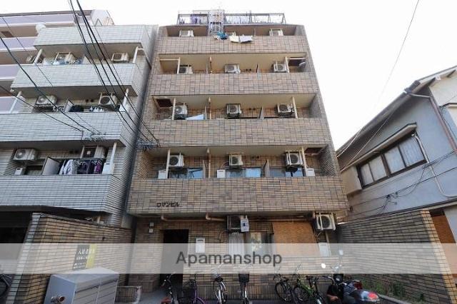 広島県広島市南区、海岸通駅徒歩8分の築30年 7階建の賃貸マンション
