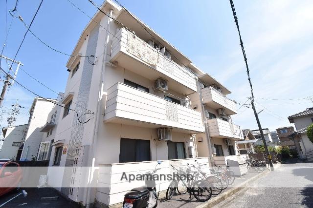 広島県広島市中区、御幸橋駅徒歩15分の築28年 3階建の賃貸マンション