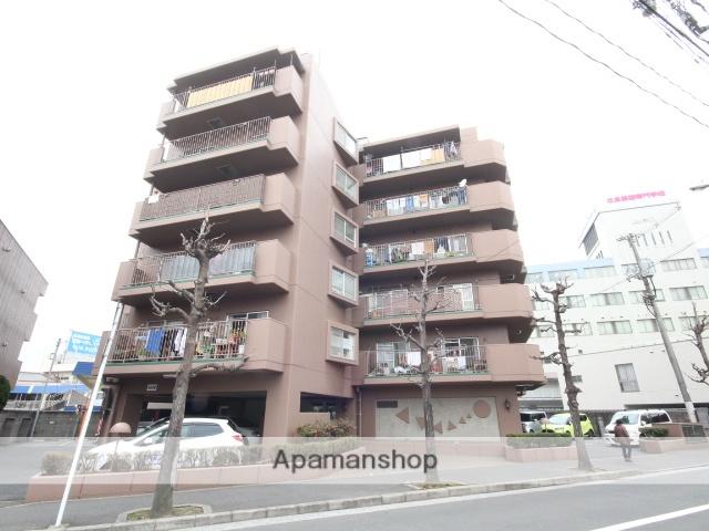 広島県広島市中区、御幸橋駅徒歩3分の築37年 7階建の賃貸マンション