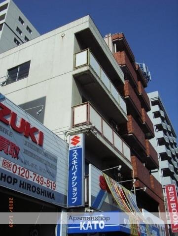 広島県広島市中区、別院前駅徒歩5分の築37年 4階建の賃貸マンション