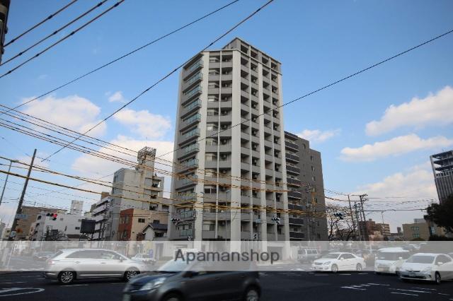 広島県広島市中区、鷹野橋駅徒歩8分の築10年 14階建の賃貸マンション