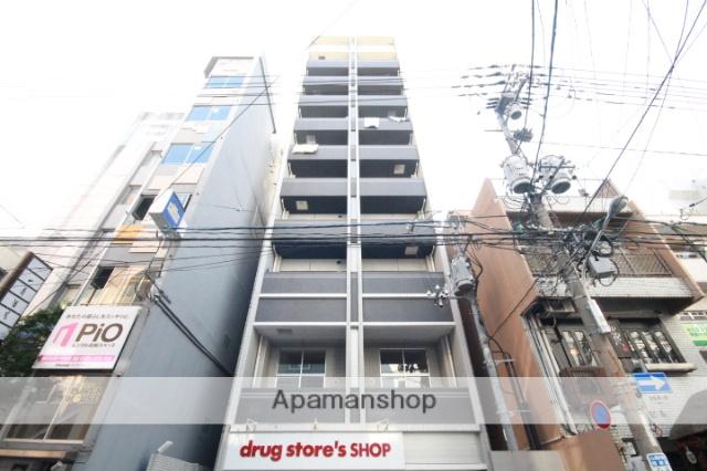 広島県広島市中区、本通駅徒歩3分の築4年 11階建の賃貸マンション