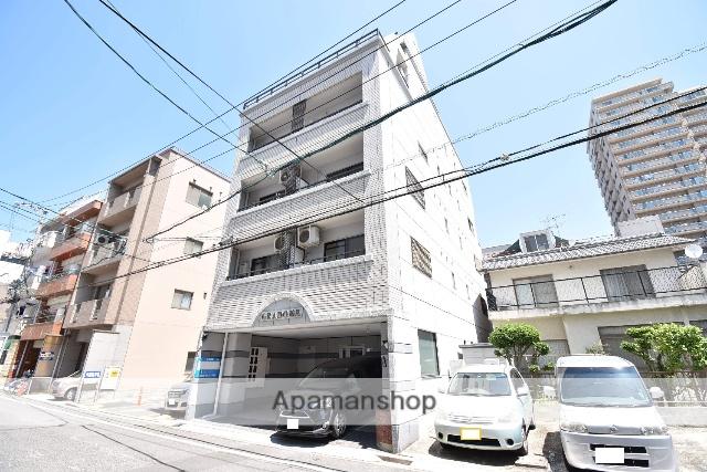 広島県広島市中区、比治山下駅徒歩9分の築26年 6階建の賃貸マンション