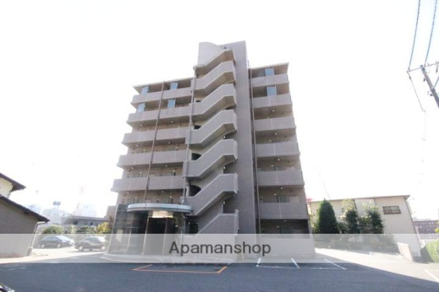 広島県広島市東区、広島駅徒歩9分の築16年 7階建の賃貸マンション