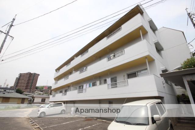 広島県広島市西区、東高須駅徒歩17分の築29年 3階建の賃貸マンション