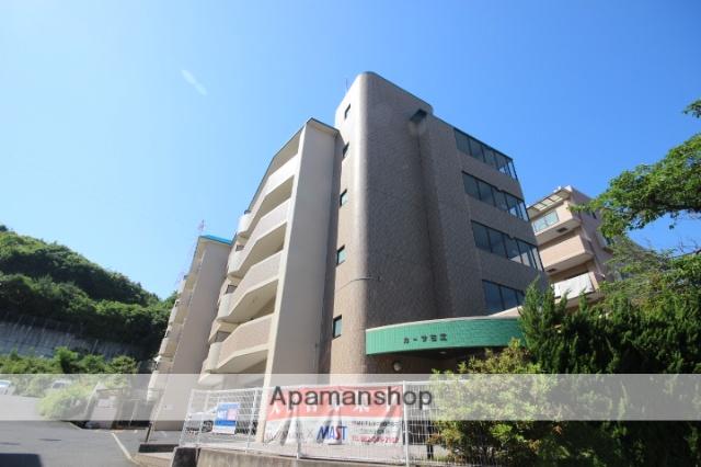 広島県広島市西区、高須駅徒歩17分の築21年 5階建の賃貸マンション
