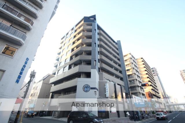 広島県広島市中区、日赤病院前駅徒歩6分の築26年 10階建の賃貸マンション