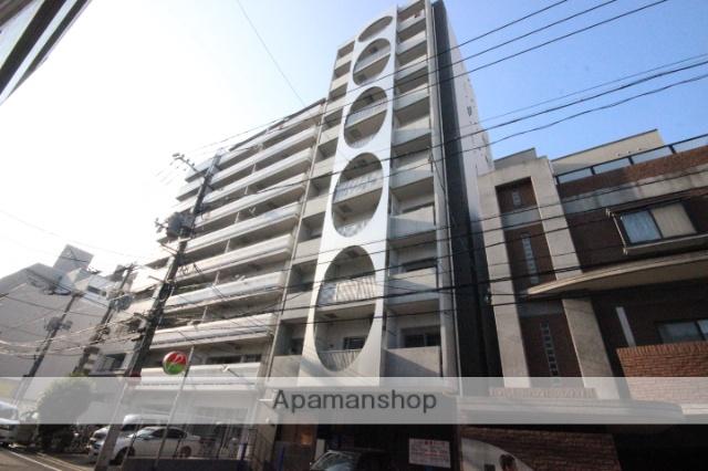 広島県広島市中区、銀山町駅徒歩12分の築3年 10階建の賃貸マンション