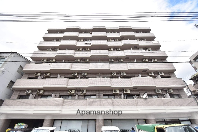 広島県広島市西区、観音町駅徒歩12分の築22年 7階建の賃貸マンション