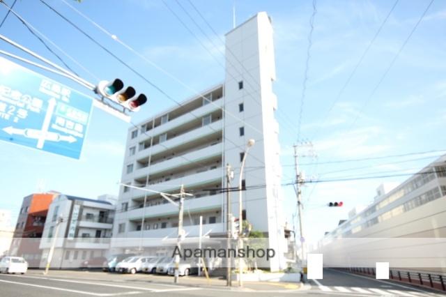 広島県広島市中区、日赤病院前駅徒歩11分の築25年 7階建の賃貸マンション