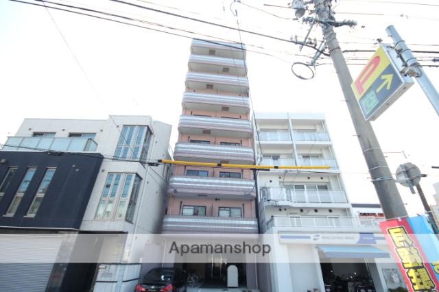 広島県広島市中区、小網町駅徒歩8分の築18年 9階建の賃貸マンション