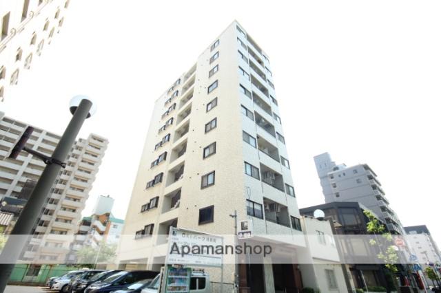 広島県広島市中区、土橋駅徒歩5分の築33年 10階建の賃貸マンション