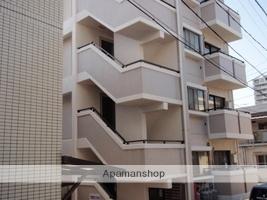 広島県広島市南区、元宇品口駅徒歩4分の築27年 4階建の賃貸マンション