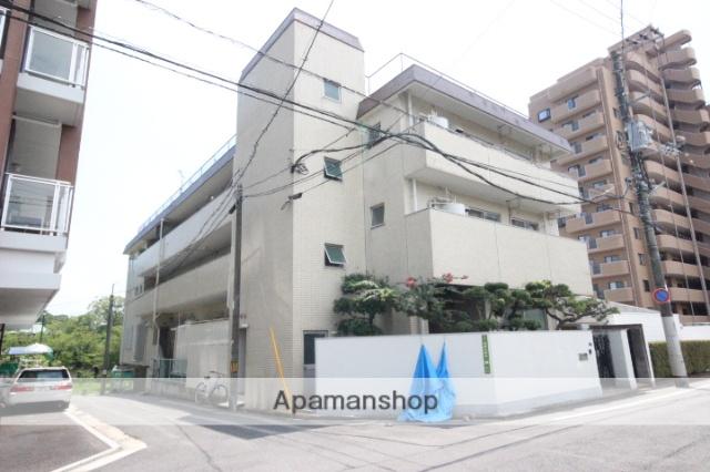 広島県広島市中区、新白島駅徒歩10分の築38年 3階建の賃貸マンション