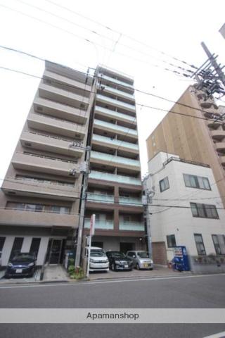 広島県広島市中区、稲荷町駅徒歩10分の築3年 12階建の賃貸マンション