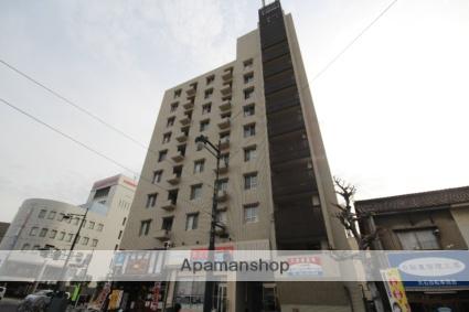 広島県広島市中区、御幸橋駅徒歩2分の築37年 9階建の賃貸マンション