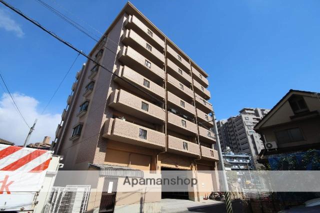広島県広島市南区、宇品二丁目駅徒歩3分の築21年 7階建の賃貸マンション
