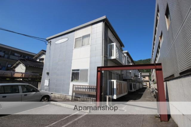 広島県広島市東区の築32年 2階建の賃貸アパート