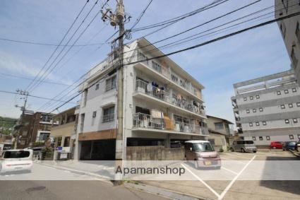 広島県広島市西区、東高須駅徒歩5分の築44年 4階建の賃貸マンション